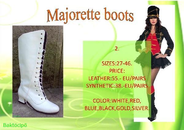 Majorette boots 2.