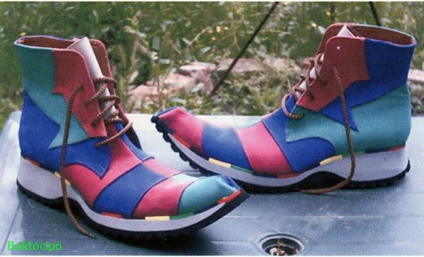 Bohóc-cipő,egyedi tervezés