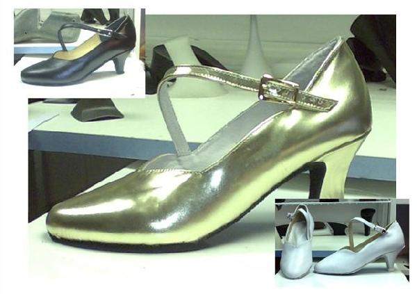 Női pántos standard tánc-cipő,44,45,46-os méretek