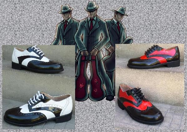 Maffiózó férfi félcipő,43,44,45-ös méretek