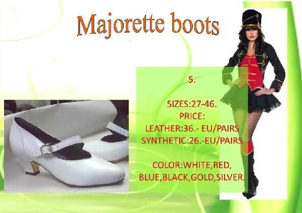 Majorette boots 5.