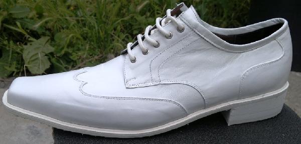 Férfi fehér esküvői cipő